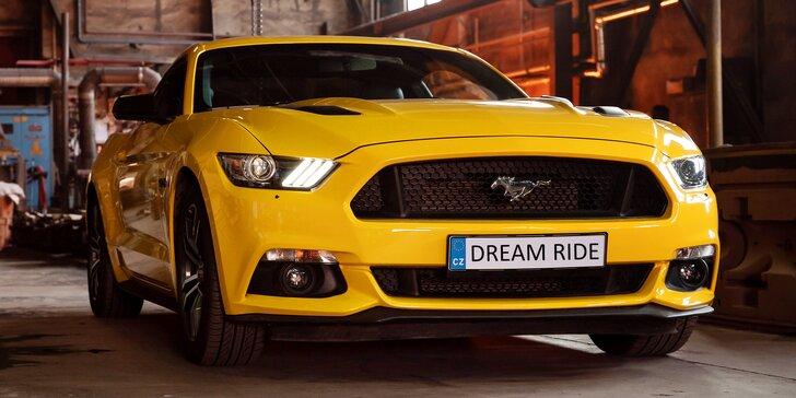 Jízda ve Fordu Mustang GT 5.0: 20 min. spolujízdy nebo až 60 min. řízení
