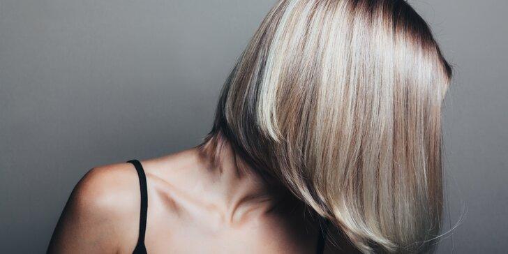 Dámský střih nebo melír pro všechny délky vlasů v centru Prahy