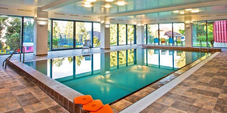 Podzimní pobyt na Lipně pro pár i rodinu: 1–7 nocí s polopenzí, bazén i sauna