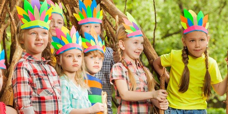 3hod. animační programy pro děti 3–15 let: vyrábění, cvičení, tancování, míčové hry i výlety