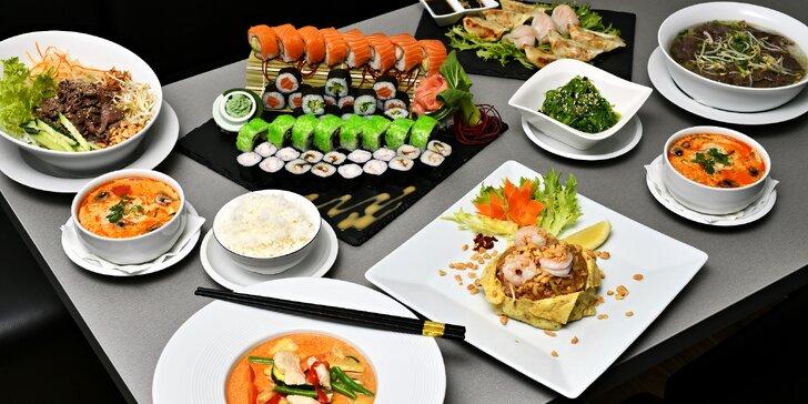Otevřený voucher v hodnotě 250 nebo 500 Kč do asijské restaurace Enjoy Asian Cuisine v Karlíně