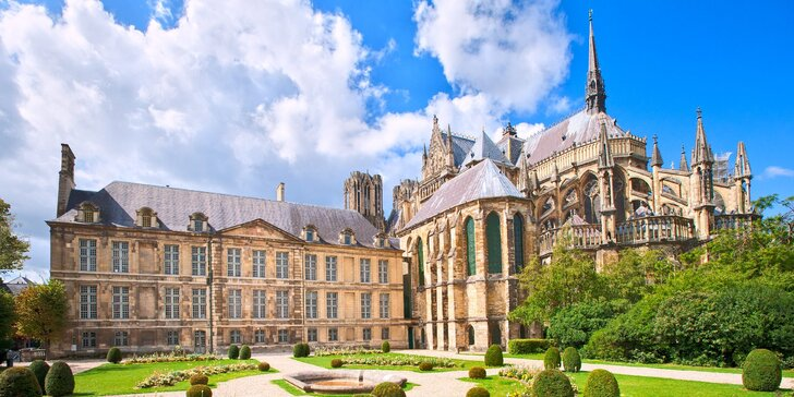 Paříž s Remeší a Versailles: 2 noci s ubytováním v hotelu včetně snídaně