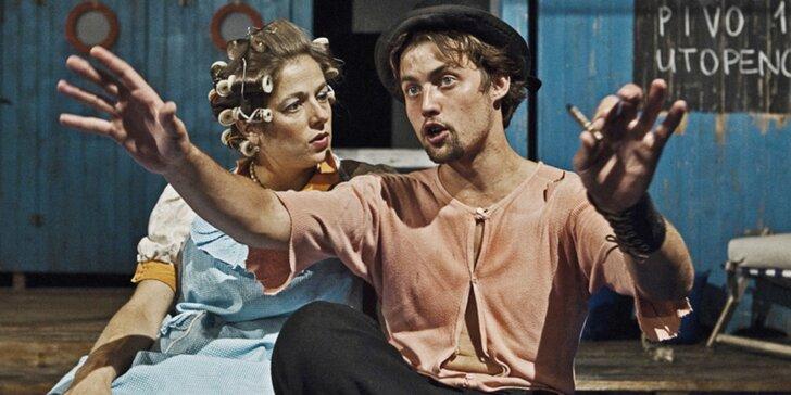 Vstupenka na divadelní představení Rozmarné léto v Divadle v Celetné