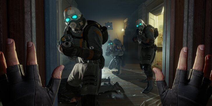 Nový Half-Life: Alyx ve virtuální realitě s profesionální bezdrátovou helmou Vive Pro na 2 a 5 hodin