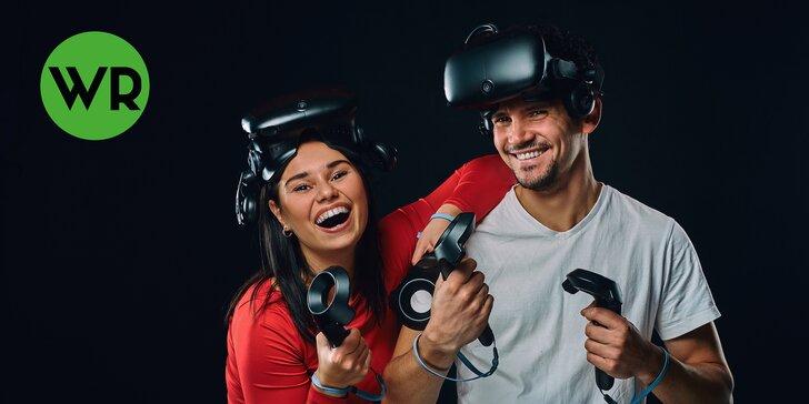 Hodina zábavy ve virtuální realitě s více než 50 hrami až pro 3 osoby