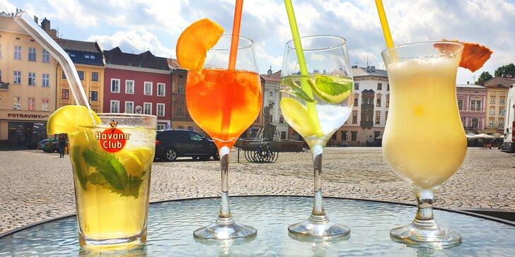Osvěžte se: ovocná limonáda nebo míchaný drink podle výběru ze 6 variant
