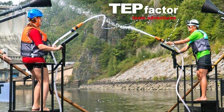 Den plný adrenalinu: zábavná vodní bitva od tvůrců TEPfactoru pro partu nebo jednotlivce