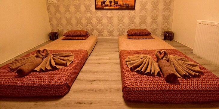 Relax pro dva: thajská párová olejová masáž na 60 minut