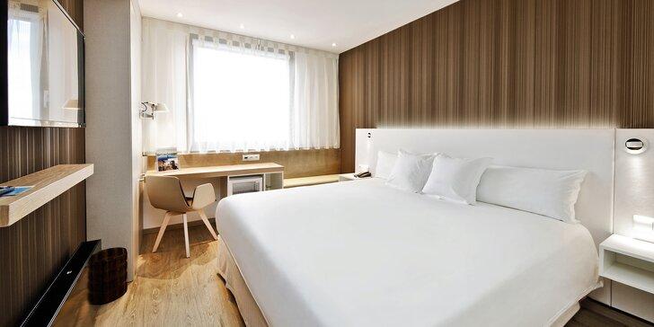 4* luxus v Praze pro pár i rodinu: snídaně, moderní pokoje, parkování zdarma