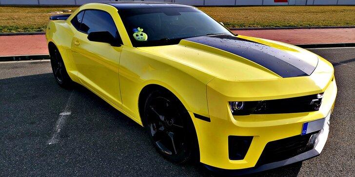Pronájem Chevroletu Camaro Bumblebee až na 24 hodin s neomezeným nájezdem km