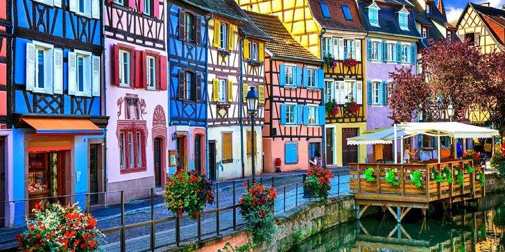 Za památkami UNESCO v Alsasku a Burgundsku: doprava, 3 noci v hotelu se snídaní a nabitý program