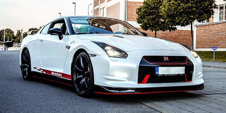 30 minut řidičem japonské ikony Nissan GT-R bez instruktora