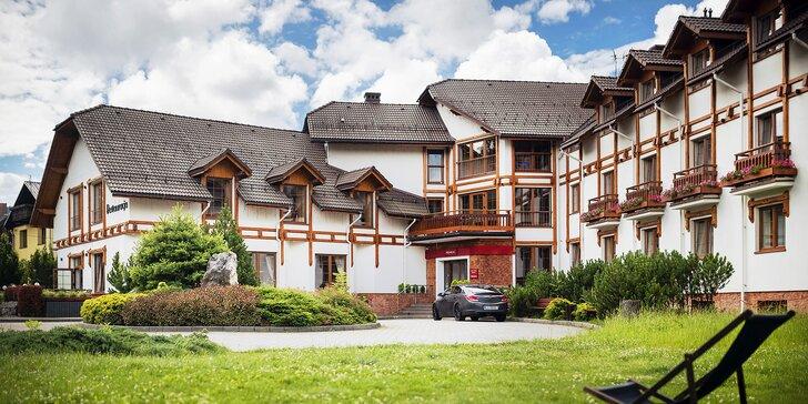 Pobyt ve Wisłe pro dva či rodinu: krása polských Beskyd, polopenze a zmodernizovaný wellness