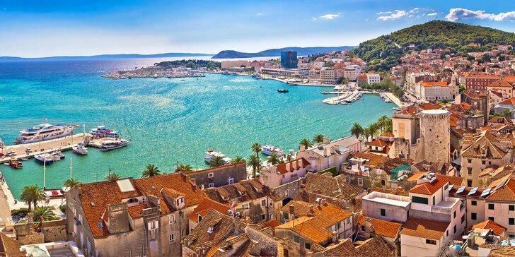Na prázdniny do Chorvatska: ubytování v centru Splitu, snídaně, láhev vína a elektrokola