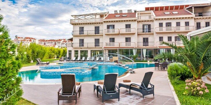 Luxusní hotel ve slunné Dalmácii: polopenze, neomezený wellness i půjčení elektrokol