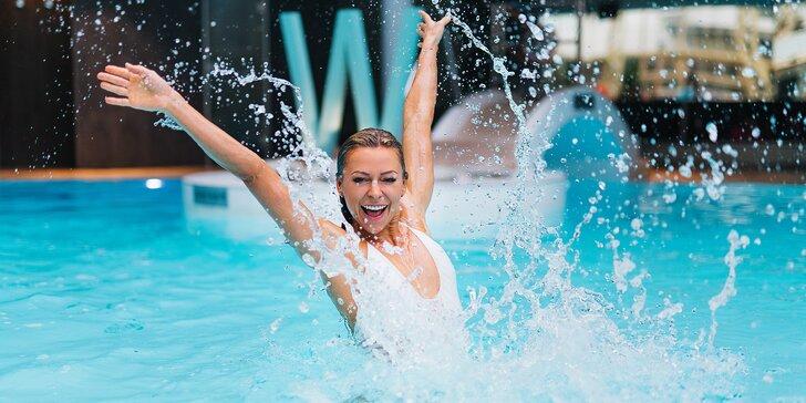 Exkluzivní den ve W. Spa & fitness: sauna, bazén, vířivka, jóga a posilovna i masáže