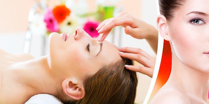 Kosmetické ošetření, barvení a tvarování obočí či hloubkové čištění pleti