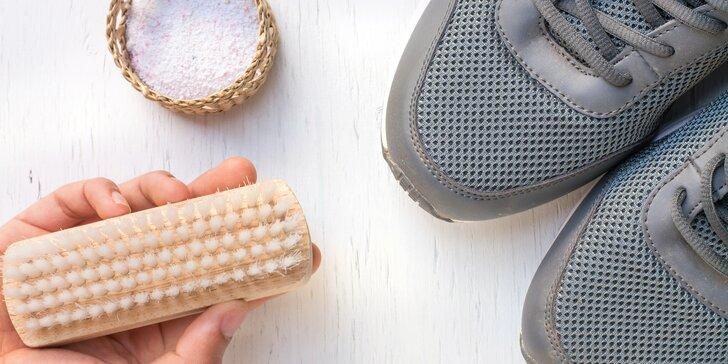 Boty jako nové: profesionální čištění povrchu, podrážek i hloubkové čištění