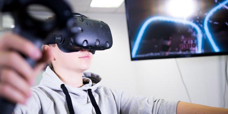 Fantastická narozeninová oslava: 2 hodiny ve virtuální realitě až pro 15 hráčů