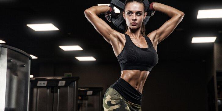 Do fitness bez obav! 3 lekce ve fitness s osobní trenérkou