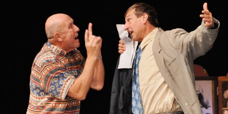 Letní scéna Harfa: Vstupenka na představení Víš přece, že neslyším, když teče voda