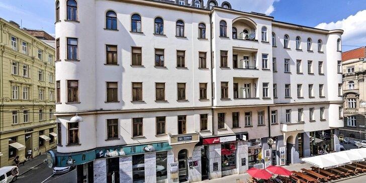Na dosah oblíbených brněnských podniků a atrakcí: penzion v centru města se snídaní až do pokoje