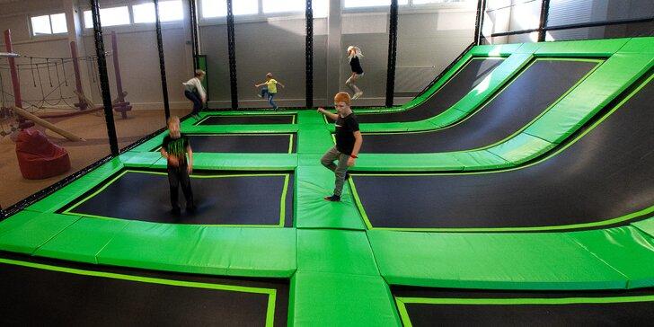 SKiPi Funpark Letohrad: vstup pro 1 dítě na 3 h, dospělý doprovod zdarma