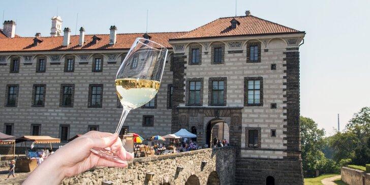 Rodinný festival a vinobraní na zámku Nelahozeves: vstup pro dítě, dospělého i celou rodinu