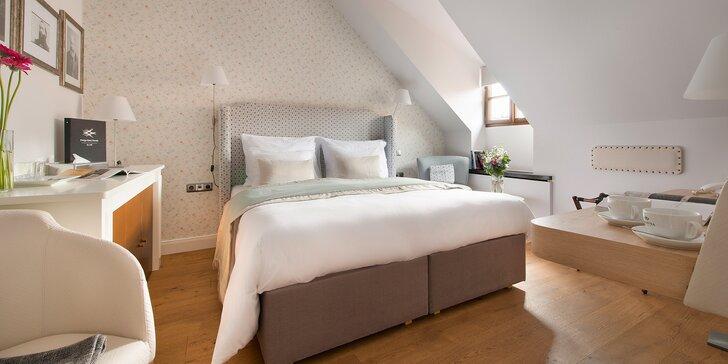 Historická Praha: romantický pobyt se snídaní v design hotelu na Malé Straně