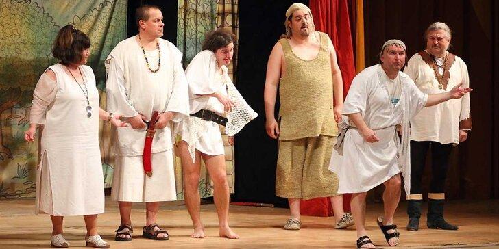 Vstupenka na představení Dívčí Válka na Vodním hradě Budyně nad Ohří