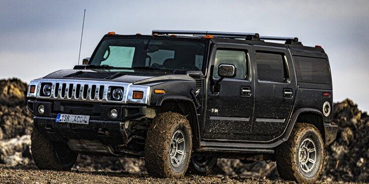 10 až 60 minut adrenalinu: jízda s instruktorem v Hummer H2