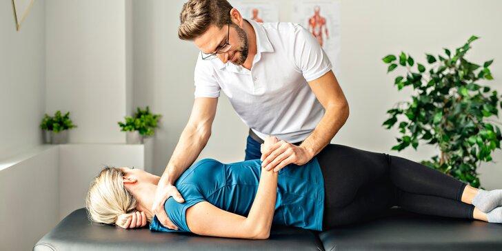 60 nebo 90 min. fyzioterapie se sestavením cvičebního plánu pro 1 os.