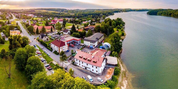 V páru či s rodinou k Těrlické přehradě na Moravě: pobyt se stravou v nejstarší krčmě v ČR