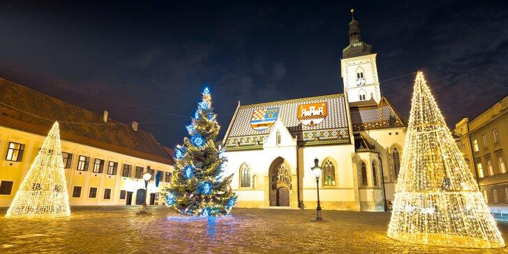 """Adventní Záhřeb: 3násobní vítězové ankety """"Nejlepší Vánoční trhy v Evropě"""""""