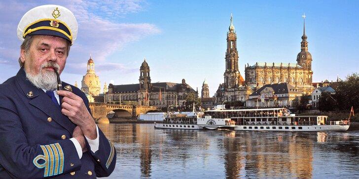 Romantická plavba do Drážďan s obědem a večeří