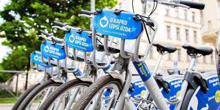 Nextbike: půlhodinové jízdy neomezeně na celý měsíc, více než 3200 kol ve 13 městech po celé ČR