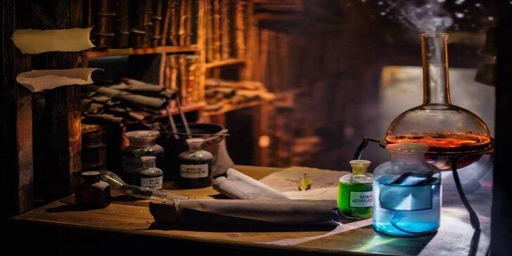Venkovní úniková hra: Tajemství alchymistické magie až pro 6 osob