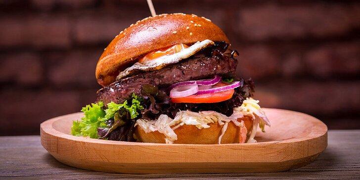 Otevřený voucher až na 2000 Kč na cokoliv v Tom's Burger Hybernská