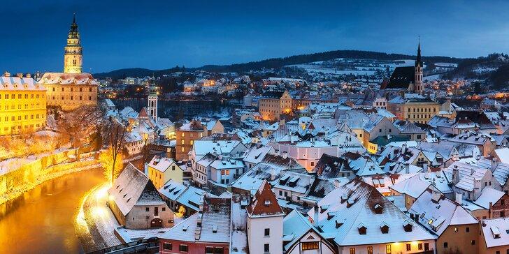 Advent na jihu Čech: vánoční výlet autobusem do Českého Krumlova a Třeboně