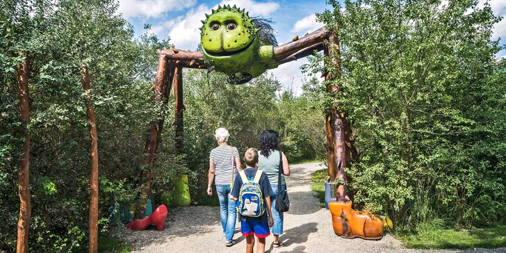 Celodenní vstup do Fajnparku: zábavní areál s atrakcemi pro celou rodinu