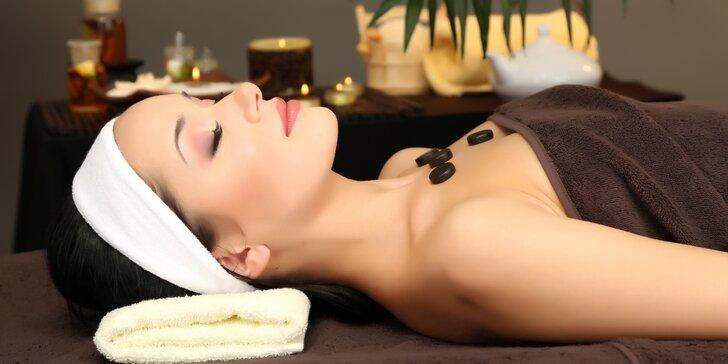 Luxusní péče v salonu Thai Sun: masáž a k ní kosmetika, manikúra nebo hubnutí