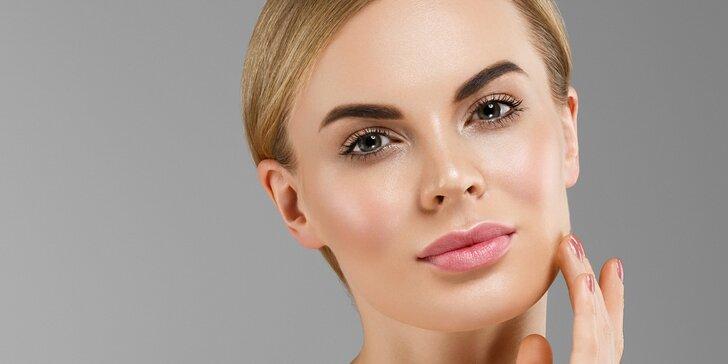 Víkendové kosmetické ošetření s úpravou řas a obočí i možnost masáže obličeje