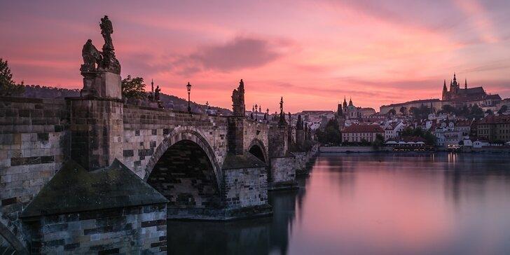 Kurz večerního a nočního fotografování v centru Prahy