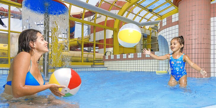 Plavání a dovádění ve vyškovském aquaparku: 180 minut pro děti i dospělé