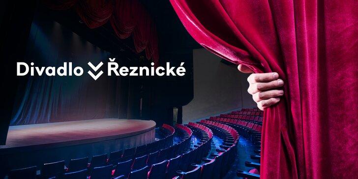 40% sleva na 2 vstupenky do Divadla v Řeznické s komorní atmosférou
