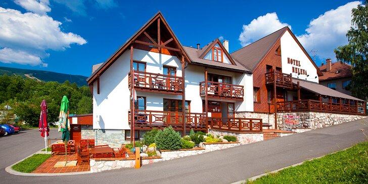 Pobyt v Krkonoších pro páry i rodiny: snídaně či polopenze, sauna a půjčení kol