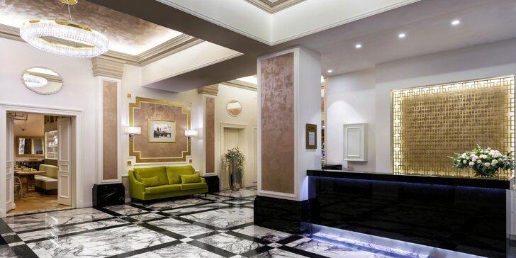 Pobyt v glamour hotelu Cosmopolitan v centru Prahy a snídaně u Zdeňka Pohlreicha