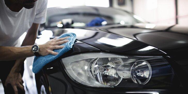 Car detailing vozu: ruční mytí, kompletní vyluxování, čištění laku i tepování interiéru