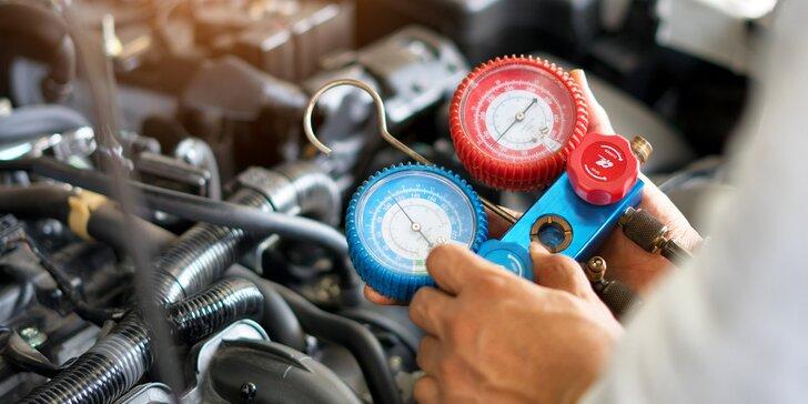 Chyťte v autě čerstvý vítr: dezinfekce interiéru ozonem i servis klimatizace včetně doplnění