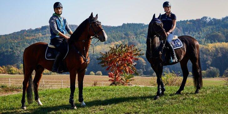 Pobyt v penzionu až pro 4 osoby: 3 pohodové dny, snídaně a jízda na koni